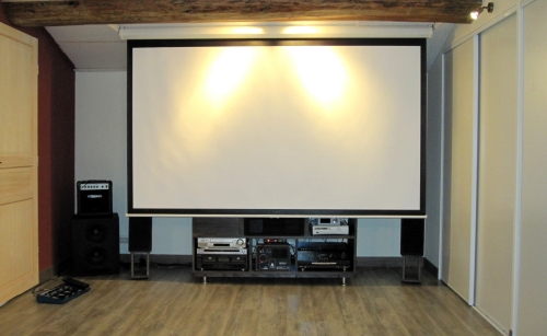 Hauteur cran video projecteur 30019971 sur le forum for Meuble videoprojecteur