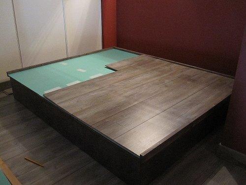 comment fabriquer une estrade pour lit id e inspirante pour la conception de la. Black Bedroom Furniture Sets. Home Design Ideas